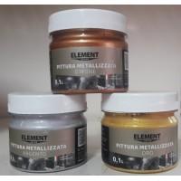 Element Pro Pittura Metallizzata металізована фарба (0,1 кг.)