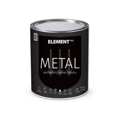Element Pro Metal антикорозійна емаль (0,7 кг.)