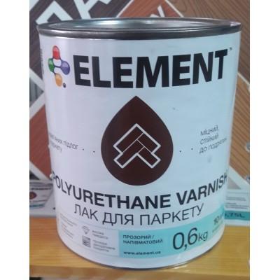 Element Polyurethane Varnish лак для паркету (напівматовий)