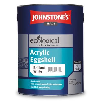 Акрилова інтер'єрна фарба Jonstones  Acrylic Eggshell (Brilliant White)