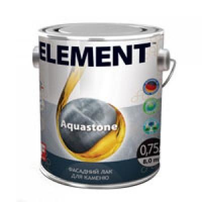 Елемент Aquastone лак для каменю