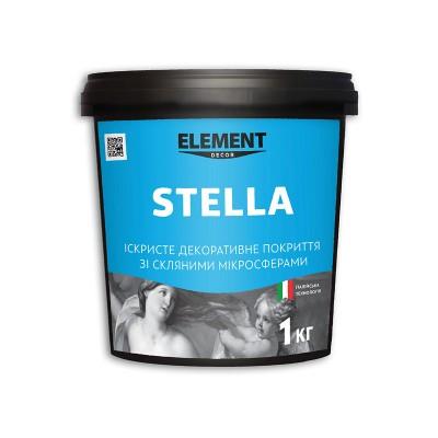 Element Decor Stella декоративна штукатурка з перламутровими частинками та скляними мікросферами