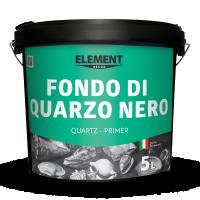 Element Fondo Di Quarzo Nero  грунтовка з мармуровим пилом (чорна)