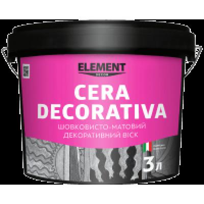 Cera Decorativa  Декоративний матовий віск