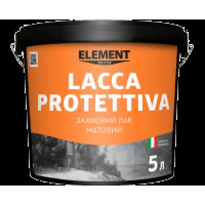 Lacca Protettiva матовий акриловий  лак  для декоративних штукатурок