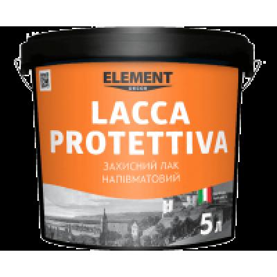 Lacca Protettiva напівматовий акриловий  лак  для декоративних штукатурок