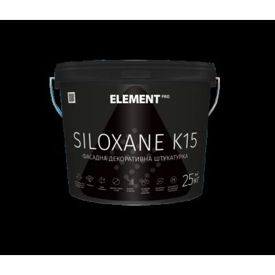 Element Pro Siloxane K15. K20 фасадна декоративна штукатурка (25кг)