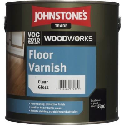 Лак для підлоги Jonstones Floor Varnish Clear Gloss (2,5 л. 5л)