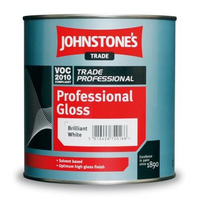 Алкідна глянцева фарба Jonstones Professional Gloss (Brilliant White)