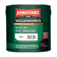Антисептик для дерева Jonstones Quick Dry Satin Woodstain (2,5 л.)