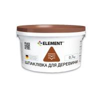 Елемент Шпаклівка для дерева (0,7 кг.)